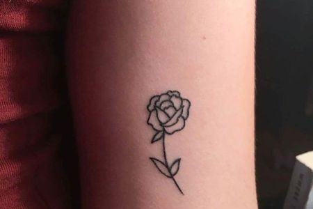 484545a74067785dd05796fe8113080d small rose tattoos small simple tattoos