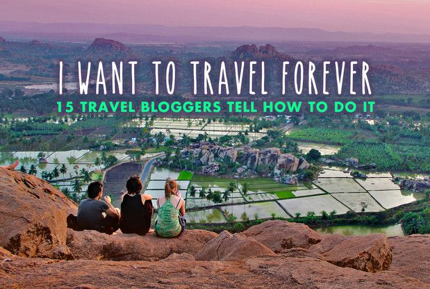Tired of your daily routine? You want to break out from 9 to 5? I asked some travel bloggers about their secrets and how they accomplished a life of full time traveling.