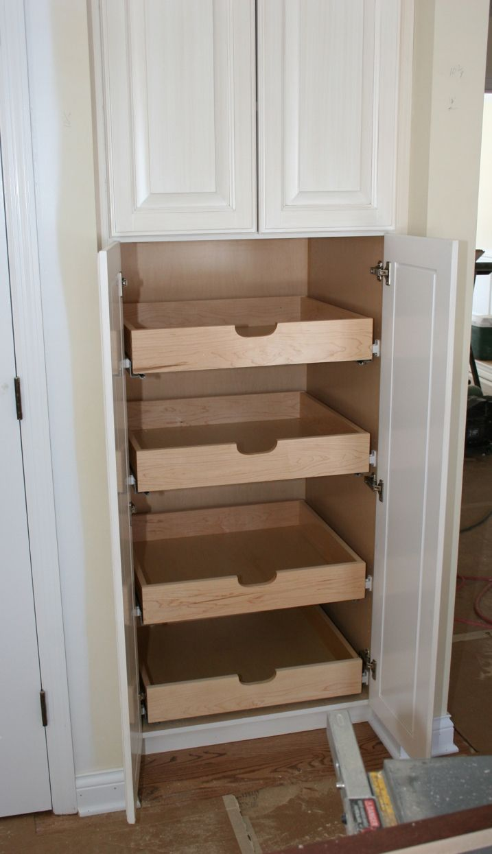kitchen cabinets kitchen cabinets ideas kitchen pantry cabinets Turning Unused Space into an Organized Pantry