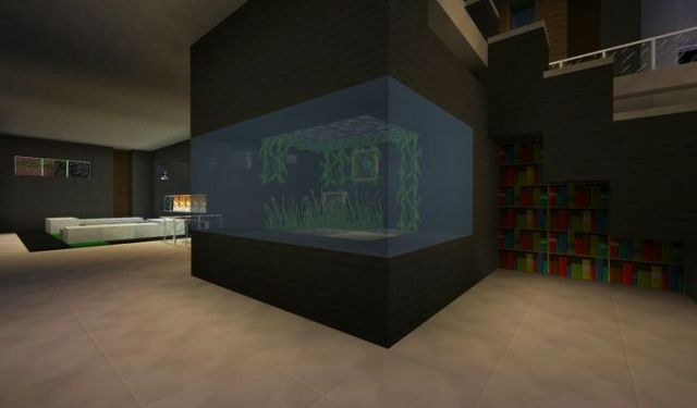 Modern fish tank | Minecraft | Pinterest | Fish Tanks, Fish and Tanks