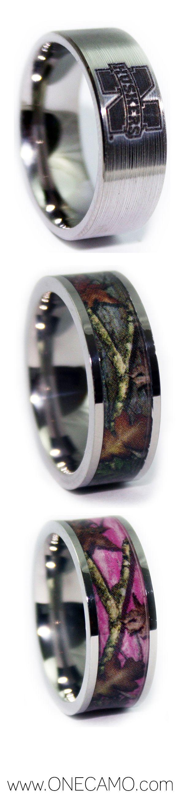 camo engagement rings camouflage wedding ring sets Shop Camo Wedding Rings by ONE CAMO Camo Wedding 1Camo com