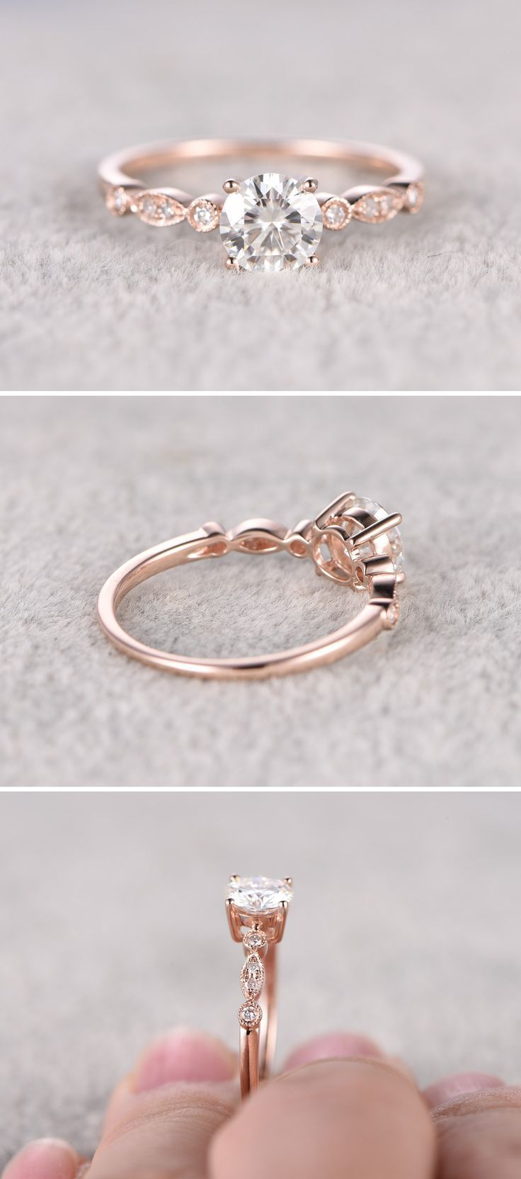 gold engagement rings pretty wedding rings 25 Best Ideas about Gold Engagement Rings on Pinterest Pretty engagement rings Silver band wedding rings and Silver band engagement rings
