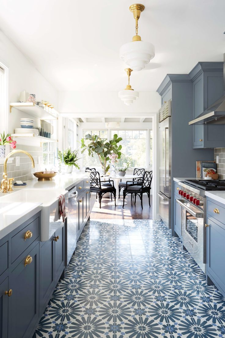 lab kitchen design a kitchen Emily Henderson s Small Space Solutions for Your Kitchen