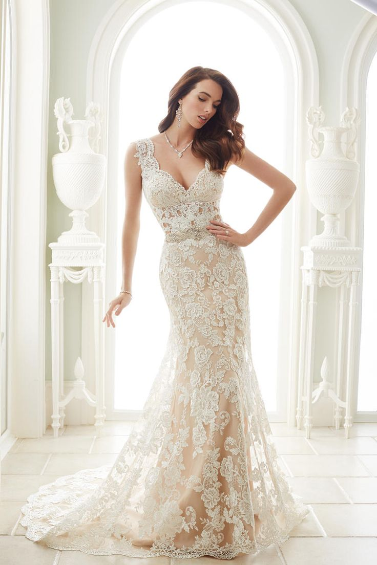 wedding bridal wedding dresses Sophia Tolli Spring Shows Glamorous Ball Gowns