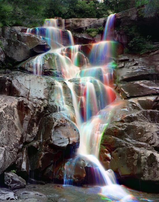 ✮ Rainbows in Ramsey Cascades - Great Smokey Mountain National Park: