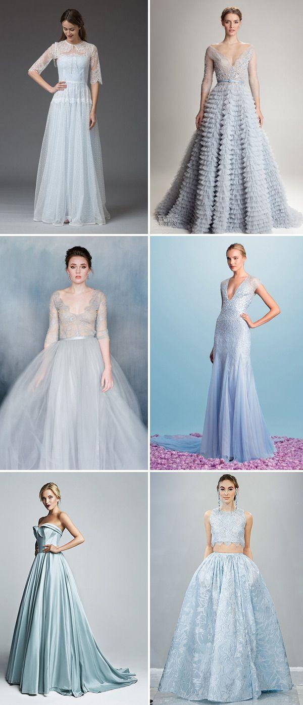 blue wedding gowns blue wedding dresses A Truly Special Something Blue Your Wedding Dress