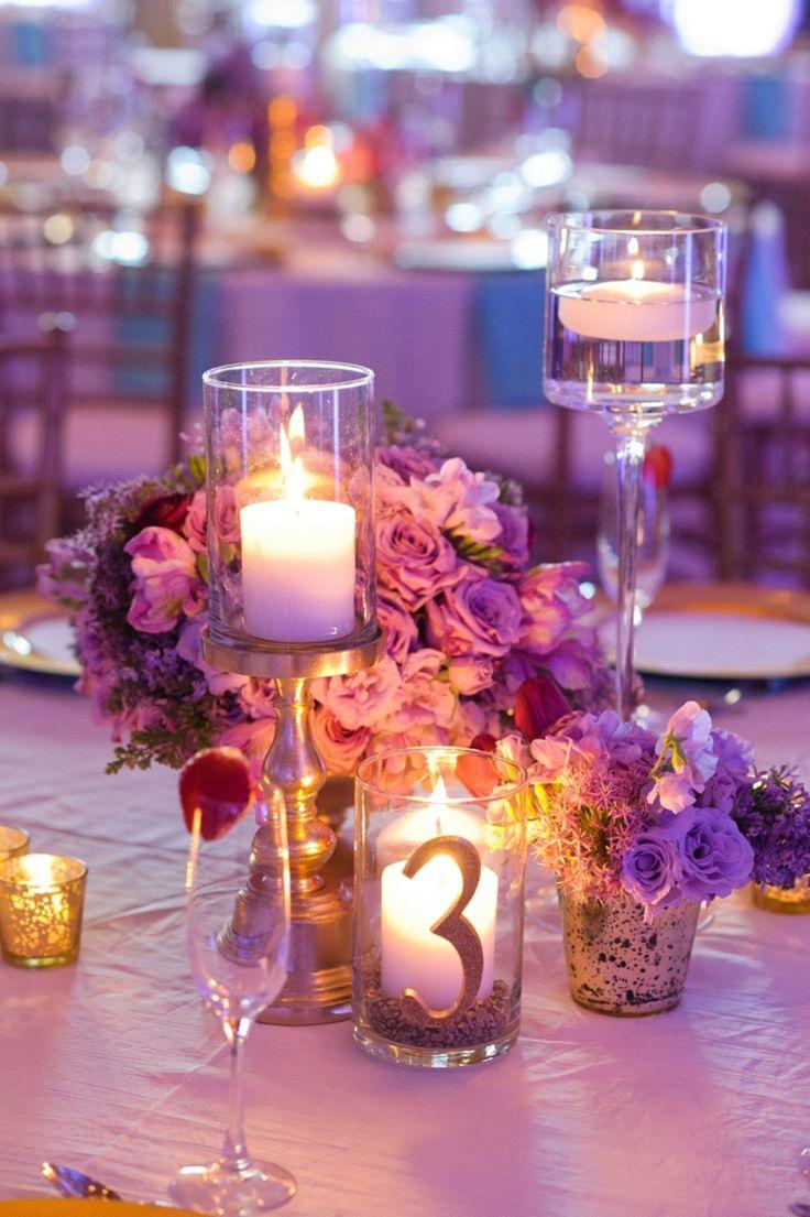 purple and gold wedding purple and gold wedding Chic Gold Aqua and Lavender Wedding