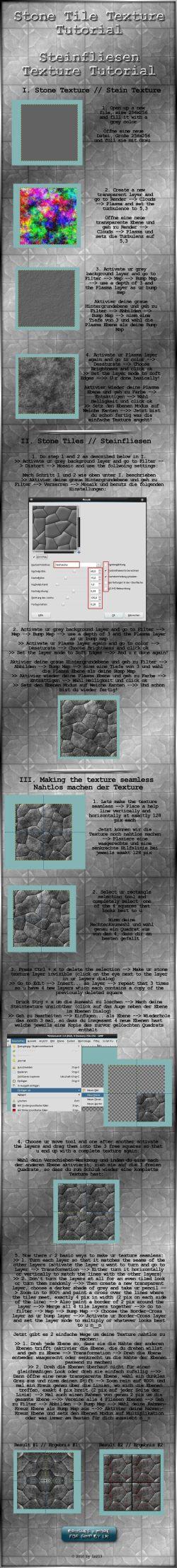 GIMP Stone Texture Tutorial by el L eN Imvu Group Texture Tutorials photo