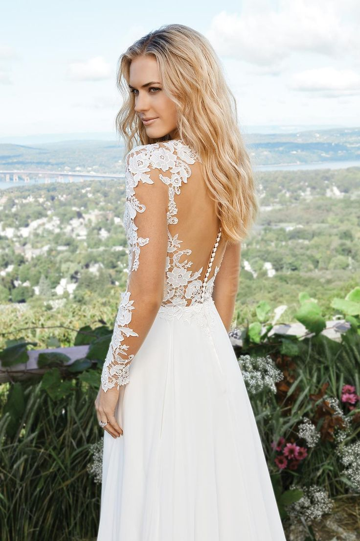 lillian west the perfect wedding dress Brides looking for a wedding dress with sleeves this is perfect for you
