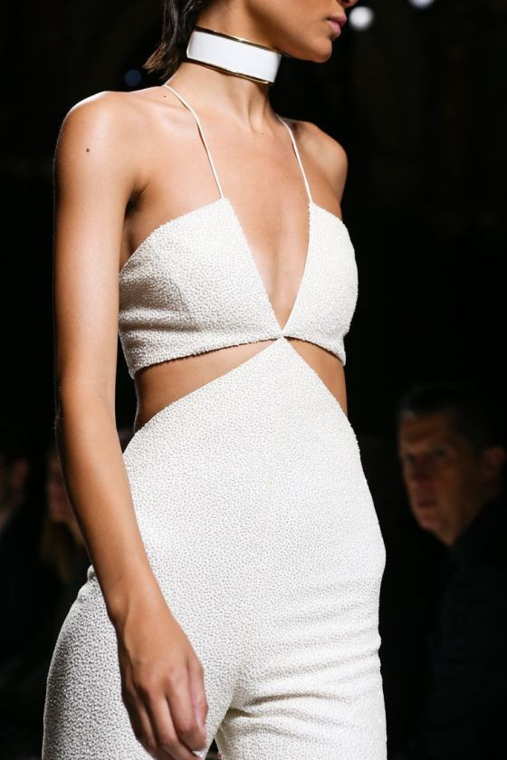 Balmain Spring 2015 Ready-to-Wear - Details - Gallery - Look 1 - Style.com