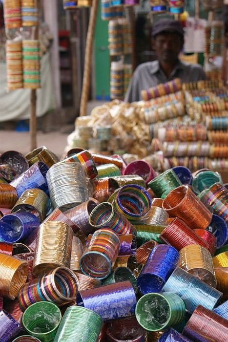 Hyderabad India - Bangles for sale