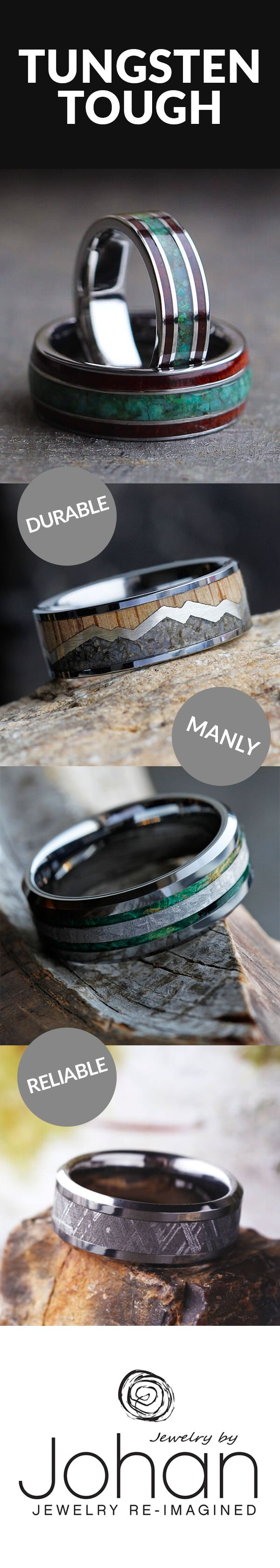 tungsten wedding bands tungsten hammered wedding band If you re looking for a Wedding Band with durability masculinity and personal