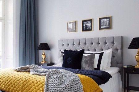 6b528fbc4df6252202752c42d2fe7007 dark blue rooms bedroom ideas gray and yellow
