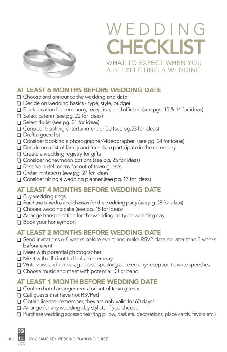same sex weddings lesbian wedding ideas ISSUU Same Sex Wedding Planning Guide by Equality Illinois