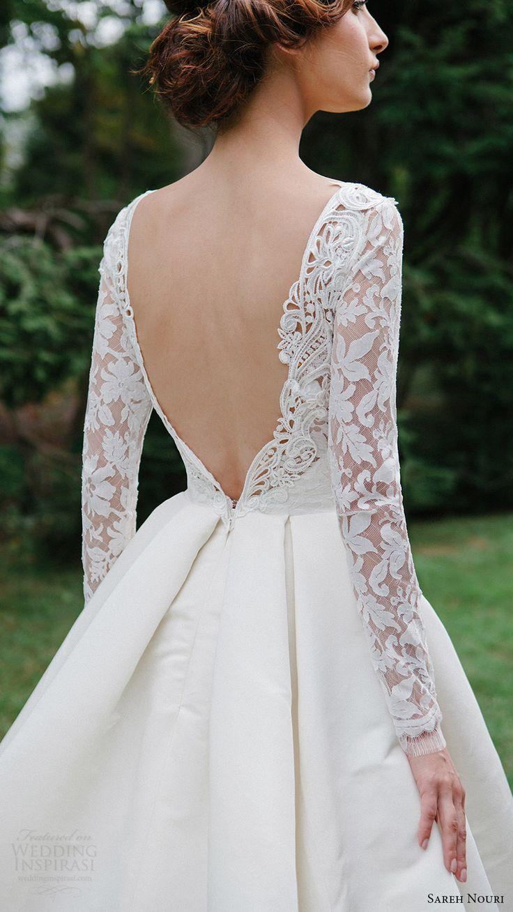 elegant wedding dress fancy wedding dresses Sareh Nouri Fall Wedding Dresses Lookbook