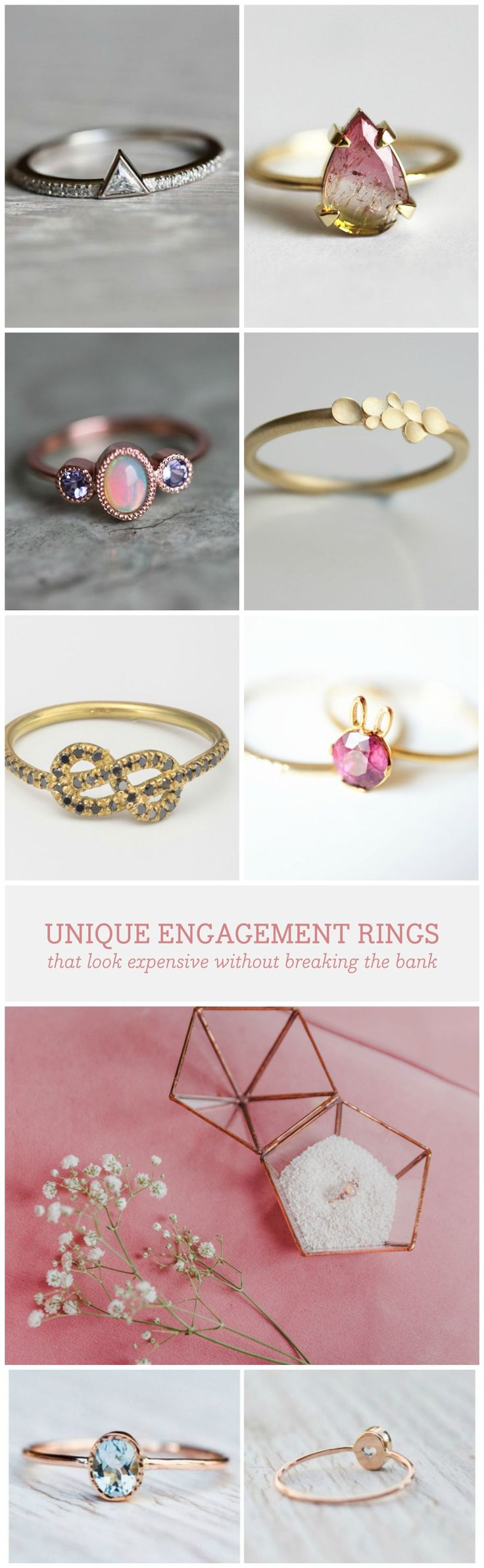 nontraditional engagement rings wedding rings under Nontraditional engagement rings are stealing the romantic scene and the best part of it all