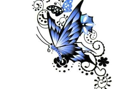 6e4eda40808cb2b070b812389cc81c5a blue erfly tattoo erfly tattoo designs