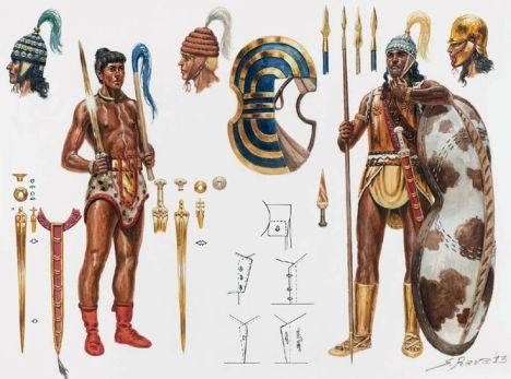 Minoan warriors