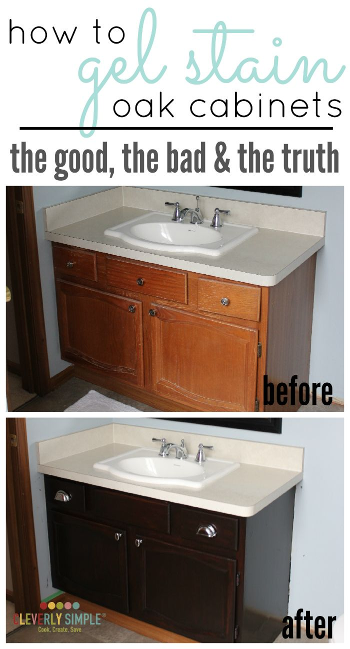 painting veneer gel stain kitchen cabinets Have you ever wondered how to gel stain cabinets Here s the truth about what the