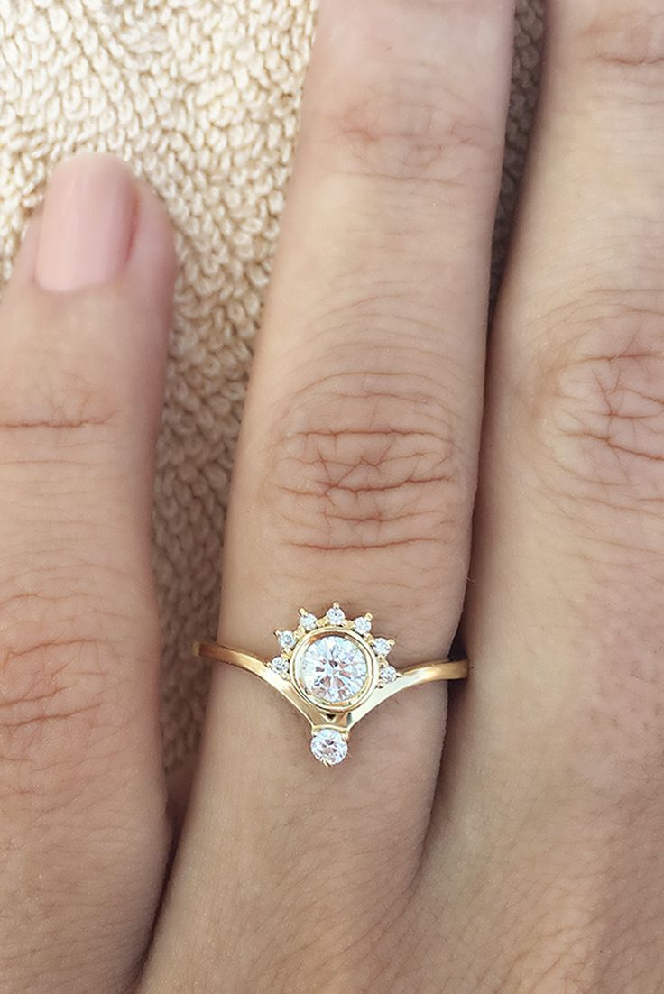 small engagement rings wedding rings 25 Best Ideas about Small Engagement Rings on Pinterest Small wedding rings Delicate engagement ring and Wedding ring