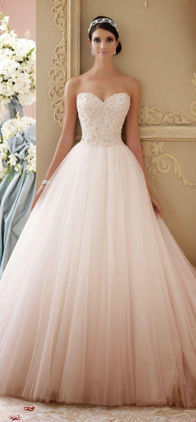 blush wedding dresses blush colored wedding dresses Best Wedding Dresses of Blush Colored