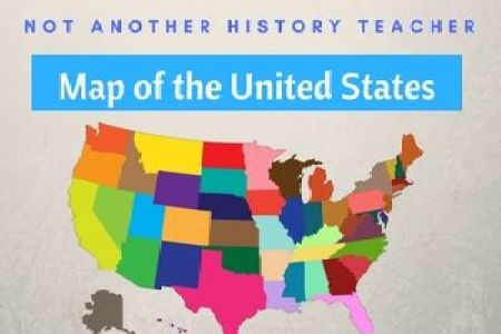 best 25 united states map labeled ideas that you will