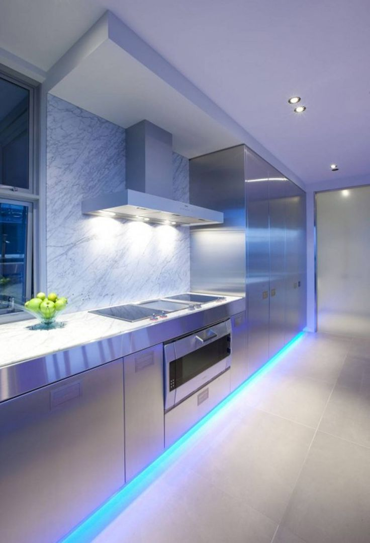 led kitchen lighting ideas overhead kitchen lighting A Contemporary Kitchen by Mal Corboy Auckland New Zealand based designer Mal Corboy has sent us some photos of a contemporary kitchen he has completed