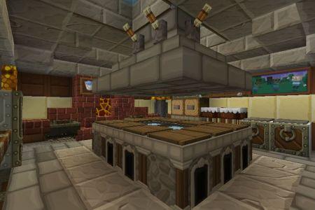 minecraft kitchen 1st view | minecraft | pinterest
