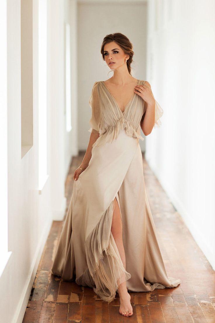 nontraditional wedding dresses sundress wedding dress 30 Fashion Forward Wedding Dress Ideas