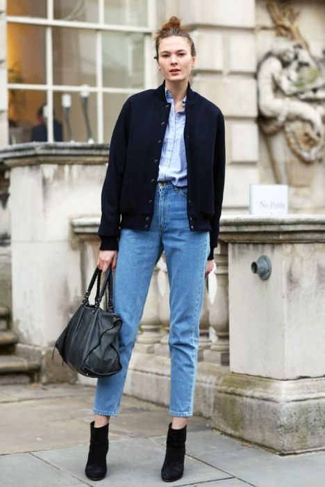 Cropped jeans.: