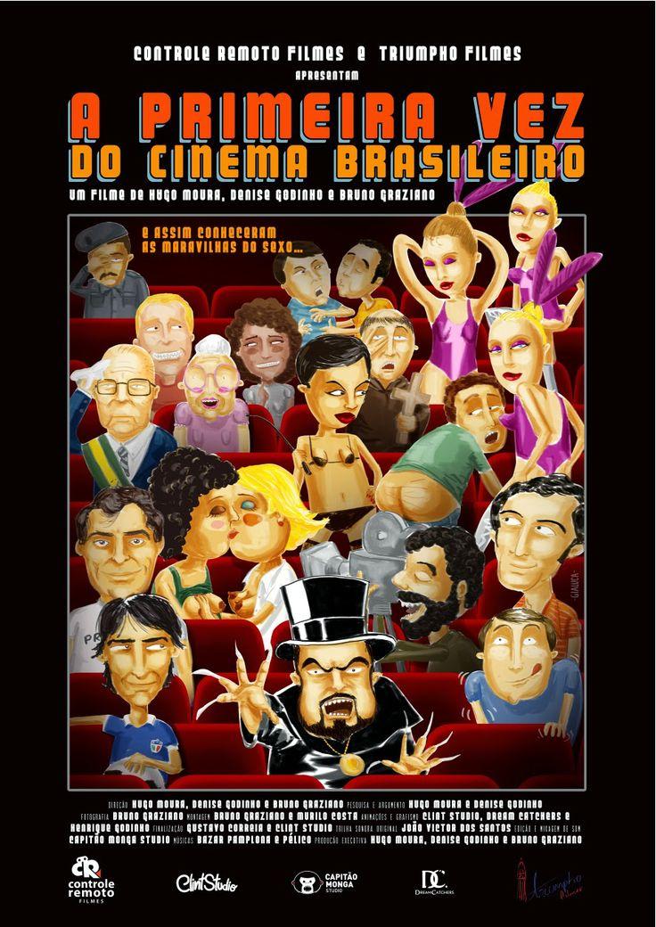 Poster do filme A Primeira Vez do Cinema Brasileiro