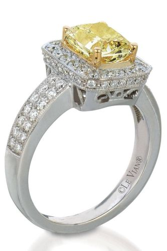 le vian le vian wedding bands 41 Alternative Engagement Rings for the Non Traditional Bride