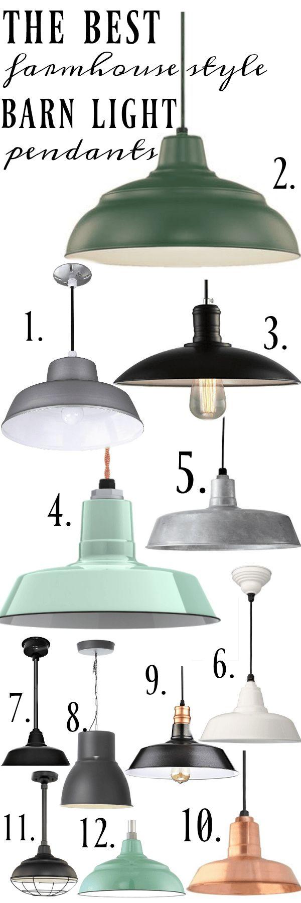 kitchen sink lighting farmhouse kitchen lighting fixtures Farmhouse Barn Light Pendants