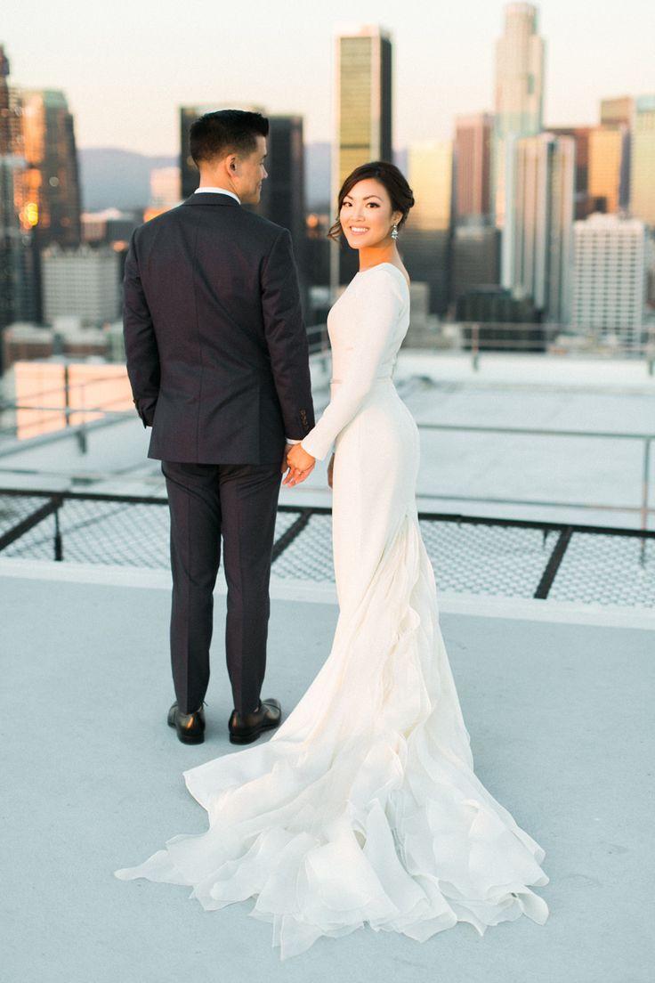 sleek wedding dress wedding dress com Sleek Modern Wedding Dresses that are Redefining Classic