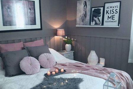9008869ef77048526e0ea368386c7484 teen bedroom pink cute grey bedrooms