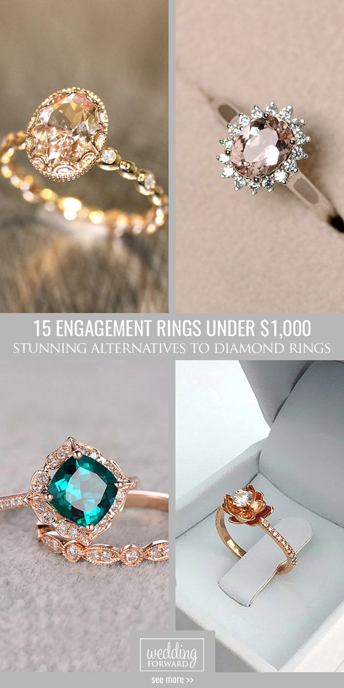 budget friendly engagement rings wedding rings under 15 Budget Friendly Engagement Rings Under 1 We gathered collection of cheap engagement rings