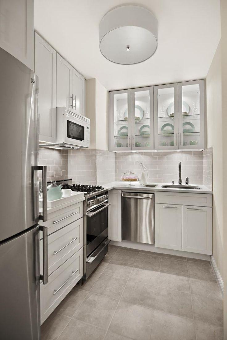 kraftmaid cabinets kitchen remodel cincinnati Before After Elegant Gramercy Park Studio Kitchen