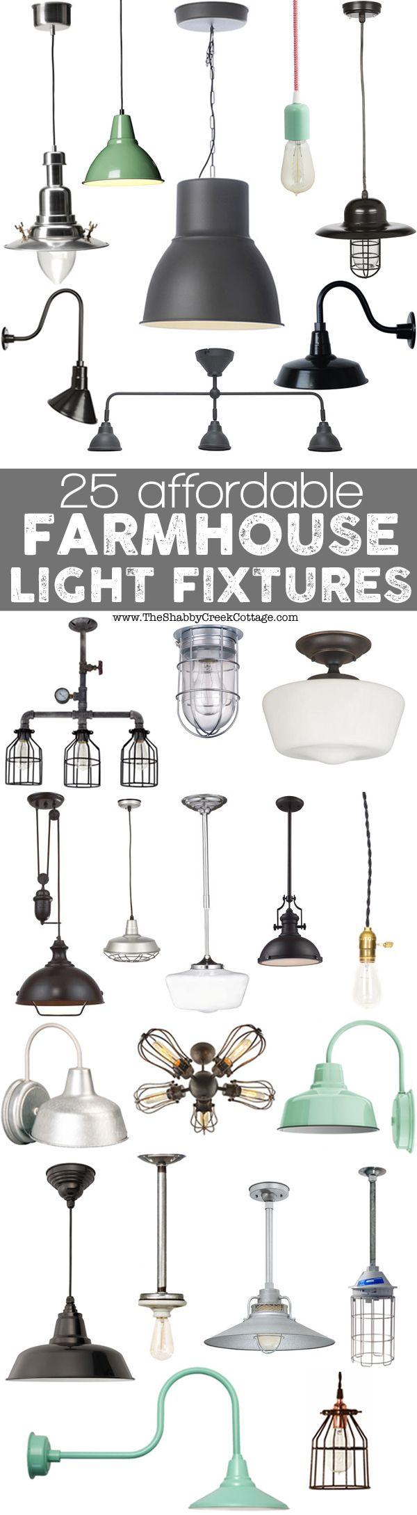 lighting ideas farmhouse kitchen lighting 25 affordable farmhouse light fixtures