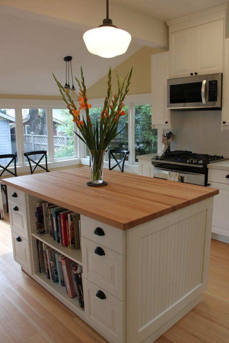 portable kitchen island kitchen island table ikea kitchen island with bookcase IKEA inspired