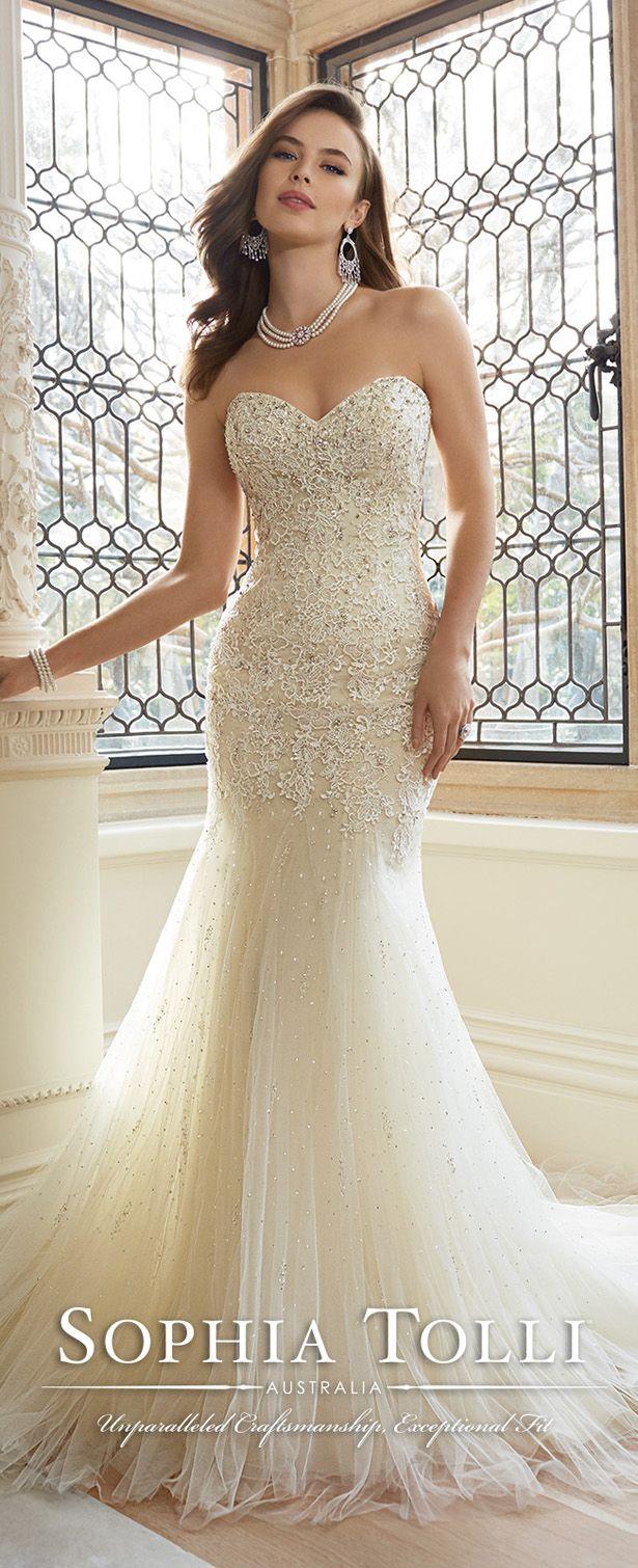 sophia tolli wedding gowns sundress wedding dress Mermaid wedding dress bodatotal com vestido de novia corte sirena wedding
