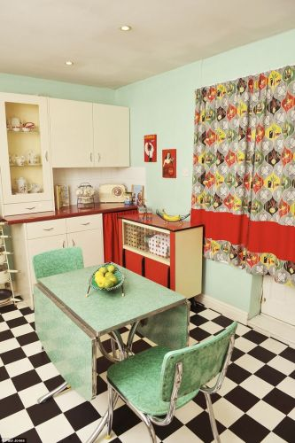 s kitchen s kitchen table Women who turned their homes into shrines to their favourite decade Retro Kitchen DecorRetro Kitchenss