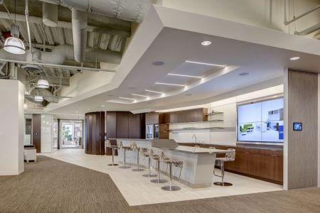 kitchen break area | cbi showroom | corporate headquarters