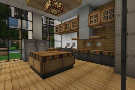 minecraft modern house kitchen google search | minecraft