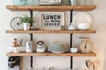 17 best ideas about open shelf kitchen on pinterest | open