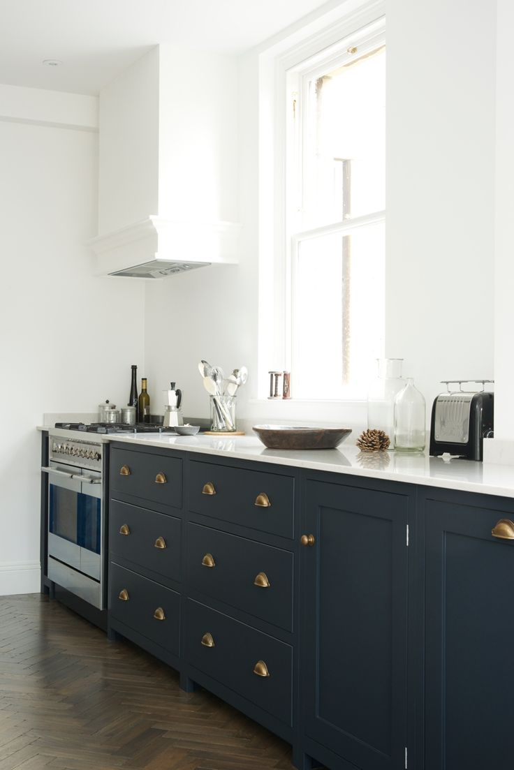 shaker kitchen blue cabinets kitchen deVOL Shaker Kitchen Bath deVOL blog