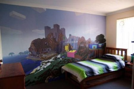 gallery for > minecraft bedroom ideas in real life