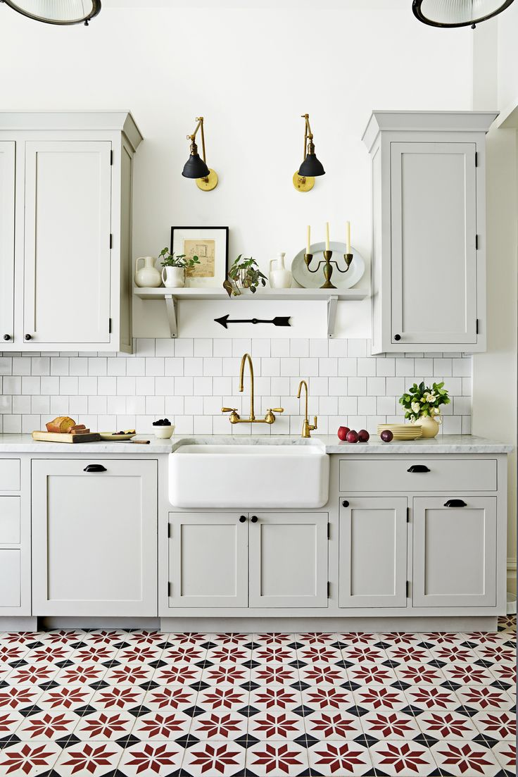 trends for kitchen floor tile designs 8 Gorgeous Kitchen Trends That Are Going to Be Huge in Ceramic Tile Floors KitchenPattern