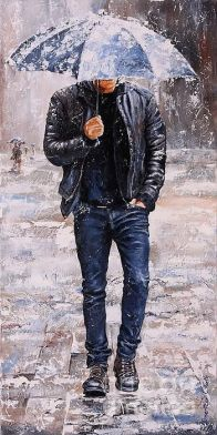 Rainy Day #23 by Emerico Imre Toth - Rainy Day #23 Painting - Rainy Day #23 Fine Art Prints and Posters for Sale