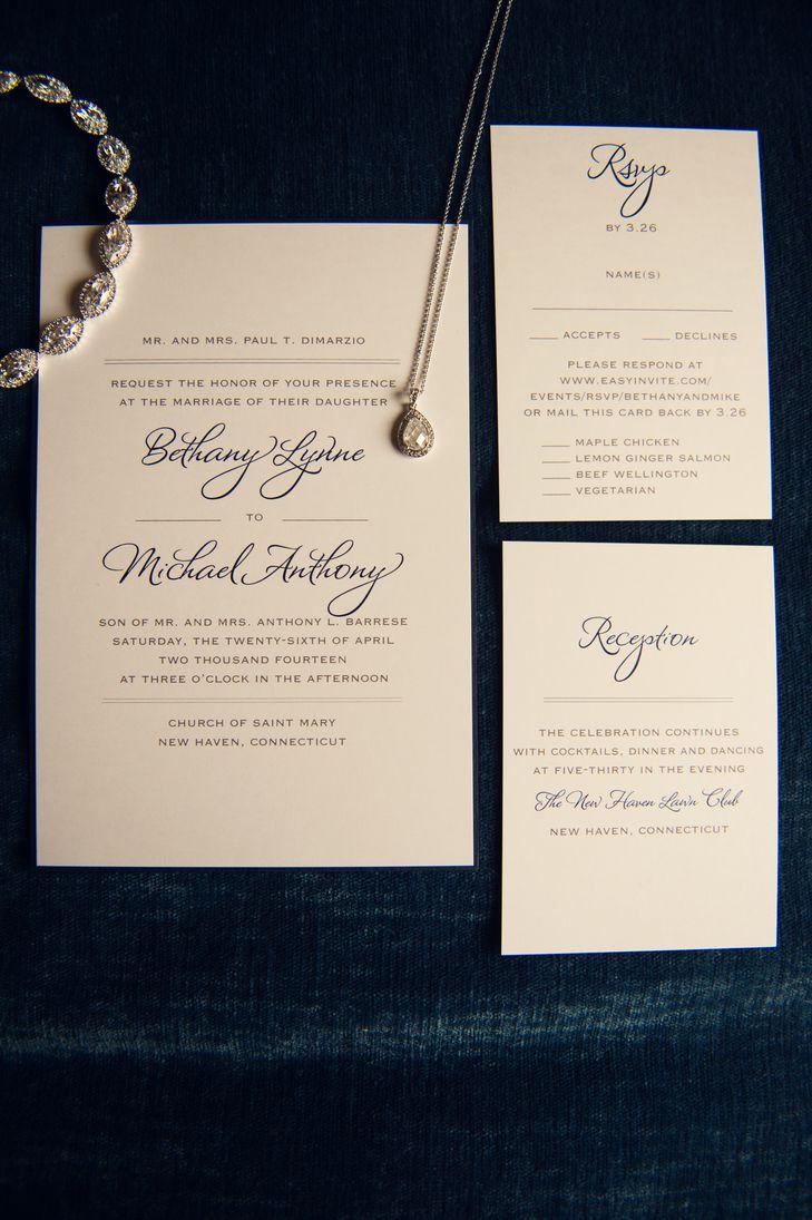 formal wedding invitations formal wedding invitations Traditional Formal Wedding Invitations Katie Slater Photography https www theknot