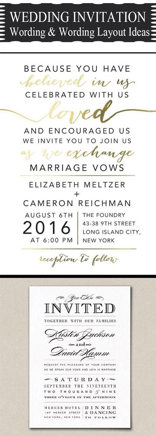 wedding invitation wording wedding invitations wording 20 Popular Wedding Invitation Wording DIY Templates Ideas
